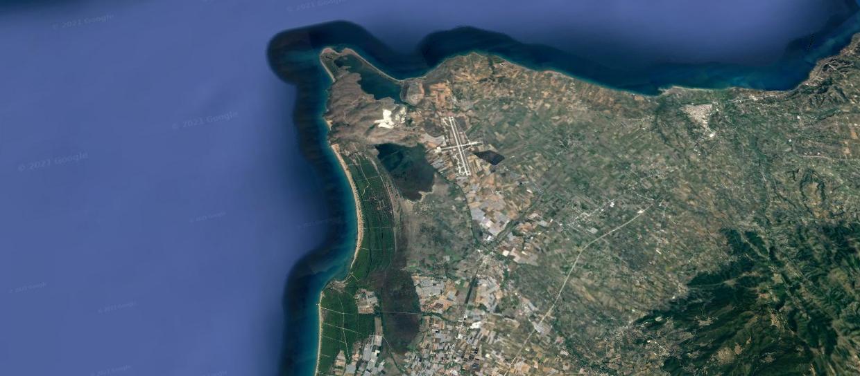 Satelite Image West Achaia